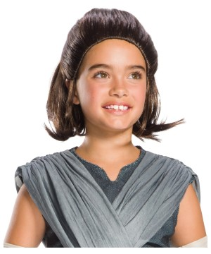 Star Wars Rey Childs Wig