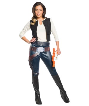 Star Wars Womens Han Solo Costume