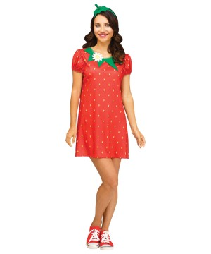 Womens Strawberry Dress up Kit