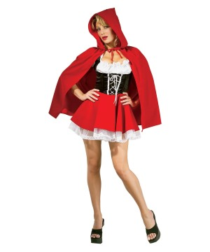 Sultry Womens Red Riding Hood Costume
