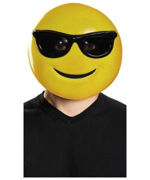 Sunglasses Emoji Mask