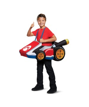 Super Mario Bros. Mario Kart Boys Costume