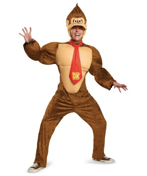 Super Mario Brothers Boys Donkey Kong Costume