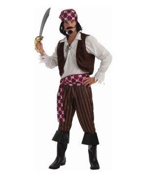Mens Swashbuckling Pirate Costume