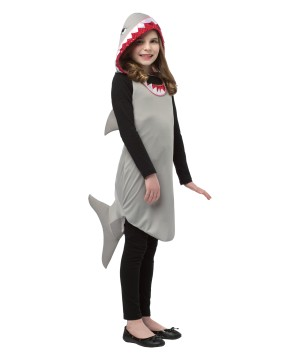 Teen Shark Hoodie Dress