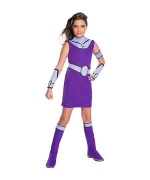Teen Titan Girls Starfire Costume