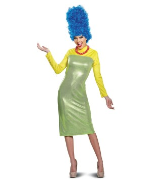 The Simpsons Marge Women Costume