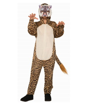 Wild Tiger Boy Costume