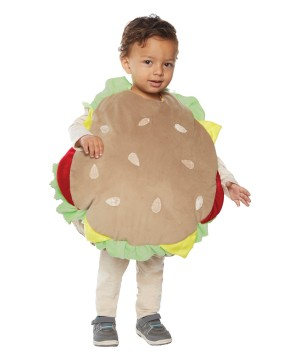 Toddler Hamburger Costume
