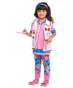 Toddler Pink Doctor Girl Costume