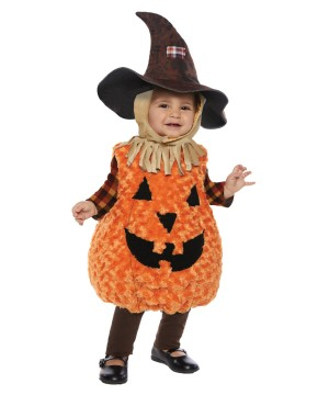 Toddler Scarecrow Pumpkin Costume