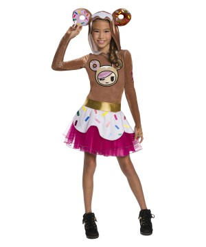 Tokidoki Girls Donutella Costume