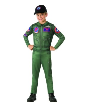 Top Gun Boys Fighter Pilot Costume