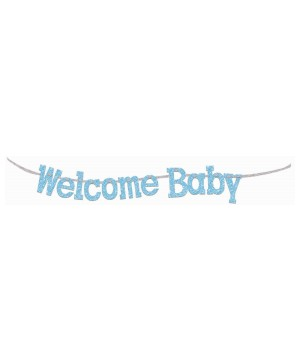 Welcome Baby Diamond Banner