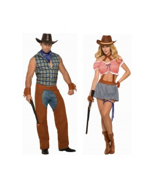 Wild Wild West Couples Costume