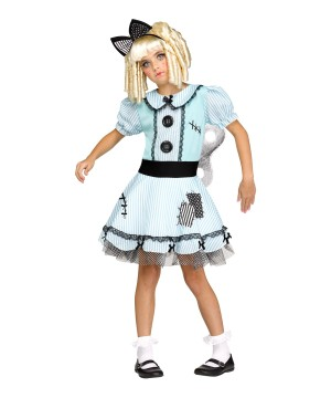Wind-up Doll Girl Costume