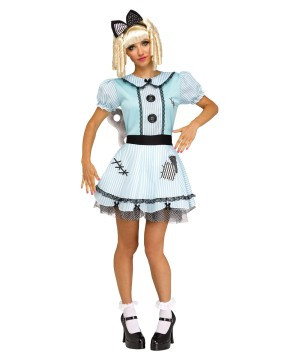 Wind-up Doll Women Costume