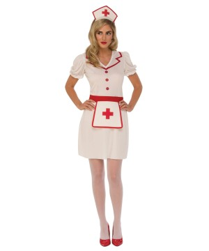 Womans Professional Nurse Costume