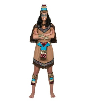Womens Aztec Costume