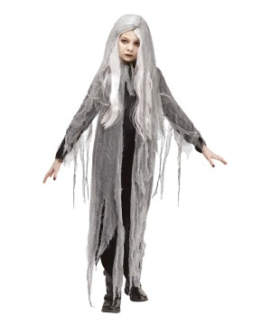 Girls Zombie Ghost Costume