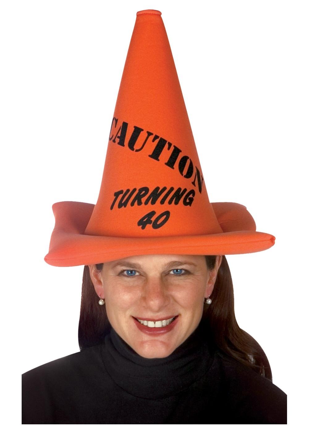 40th Birthday Cone Hat