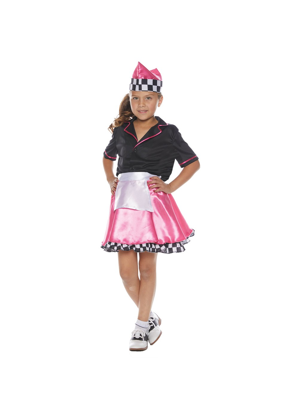 Kids 50's Car Hop Girl Costume