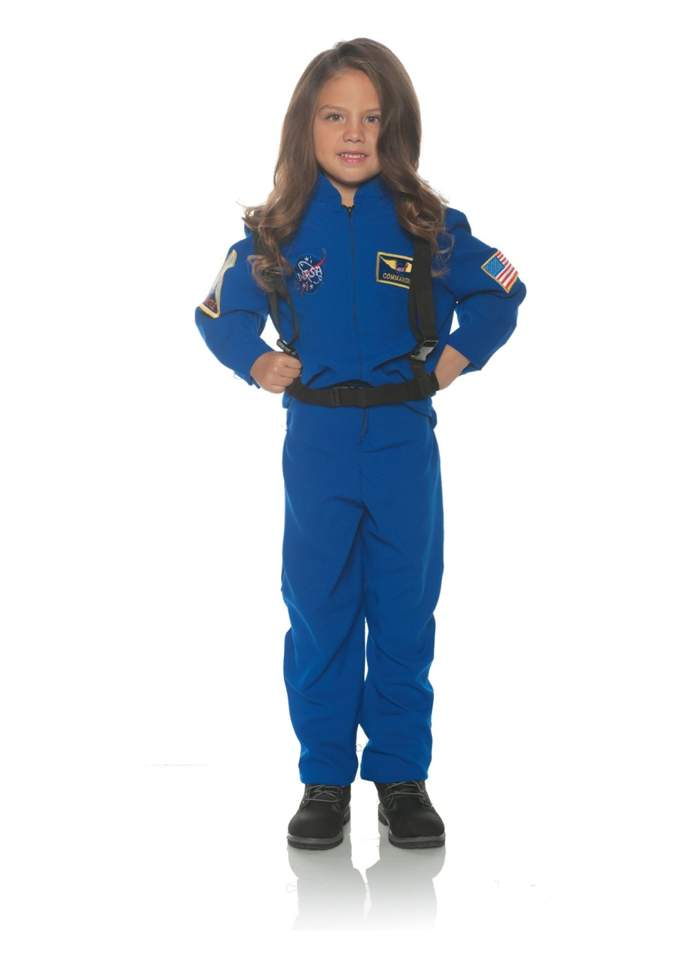 Kids Astronaut Flight Suit Boy Costume
