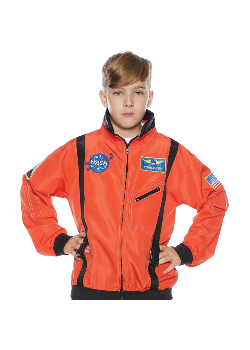 Orange Astronaut Flight Jacket