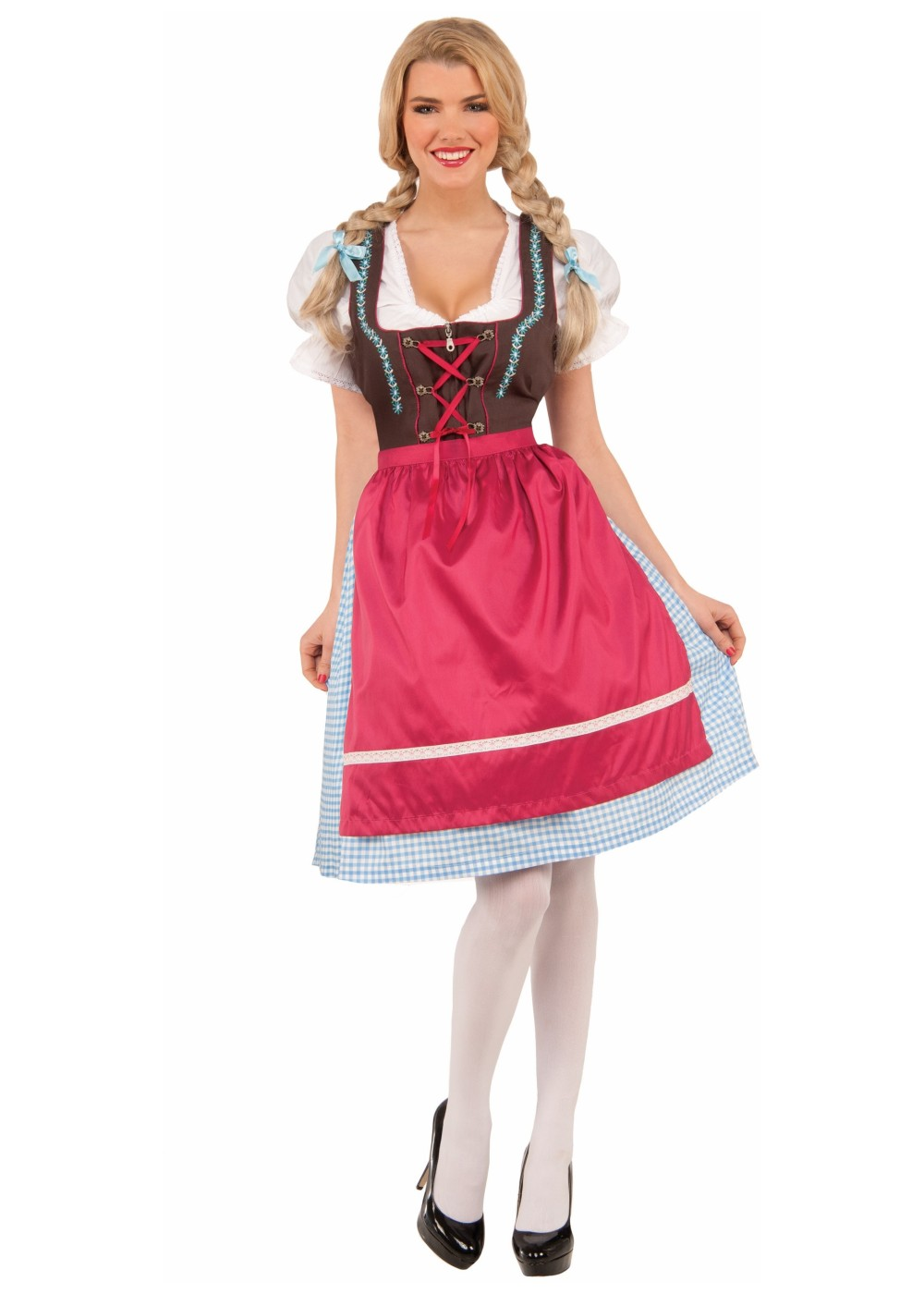 0ae9bbe9b Womens Bavarian Dress Costume - International Costumes
