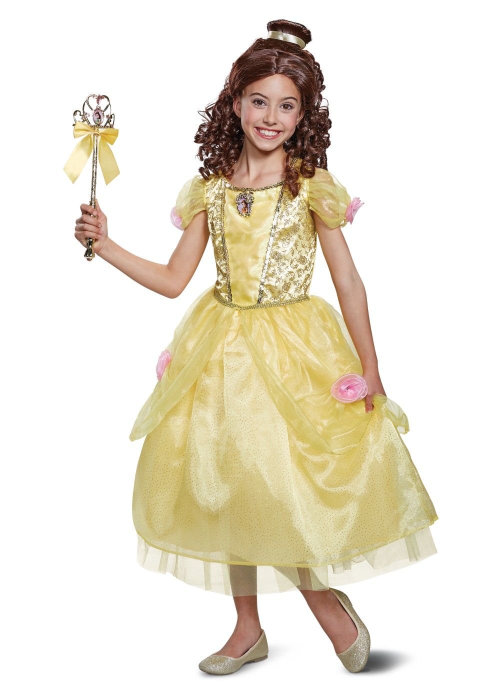 Kids Belle Girl Costume Deluxe