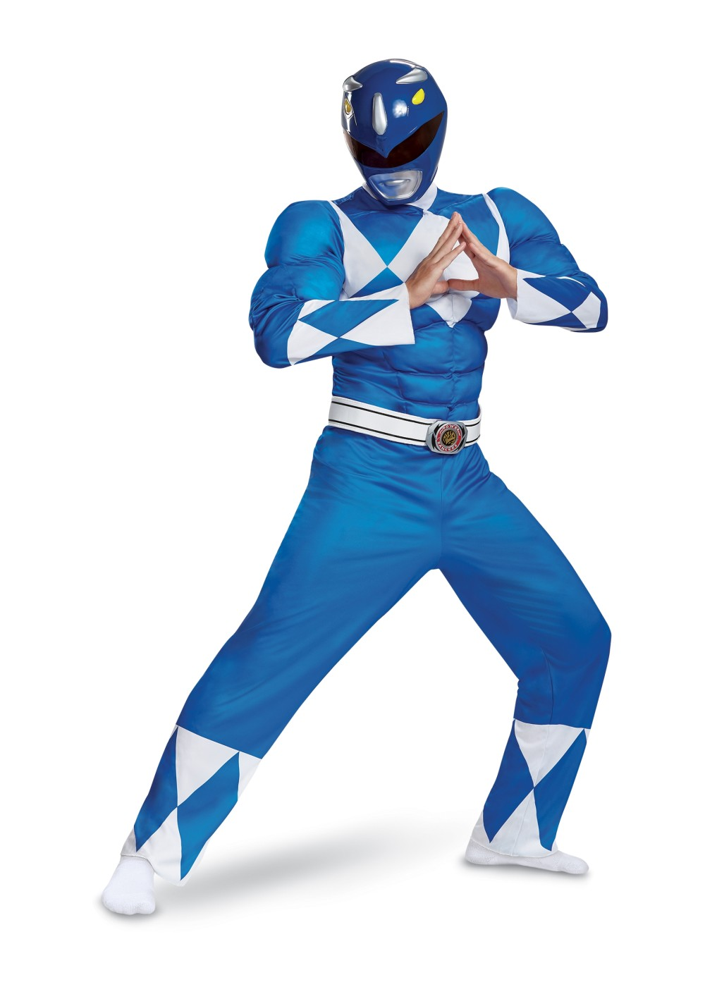 Blue Ranger Classic Muscle Men Costume