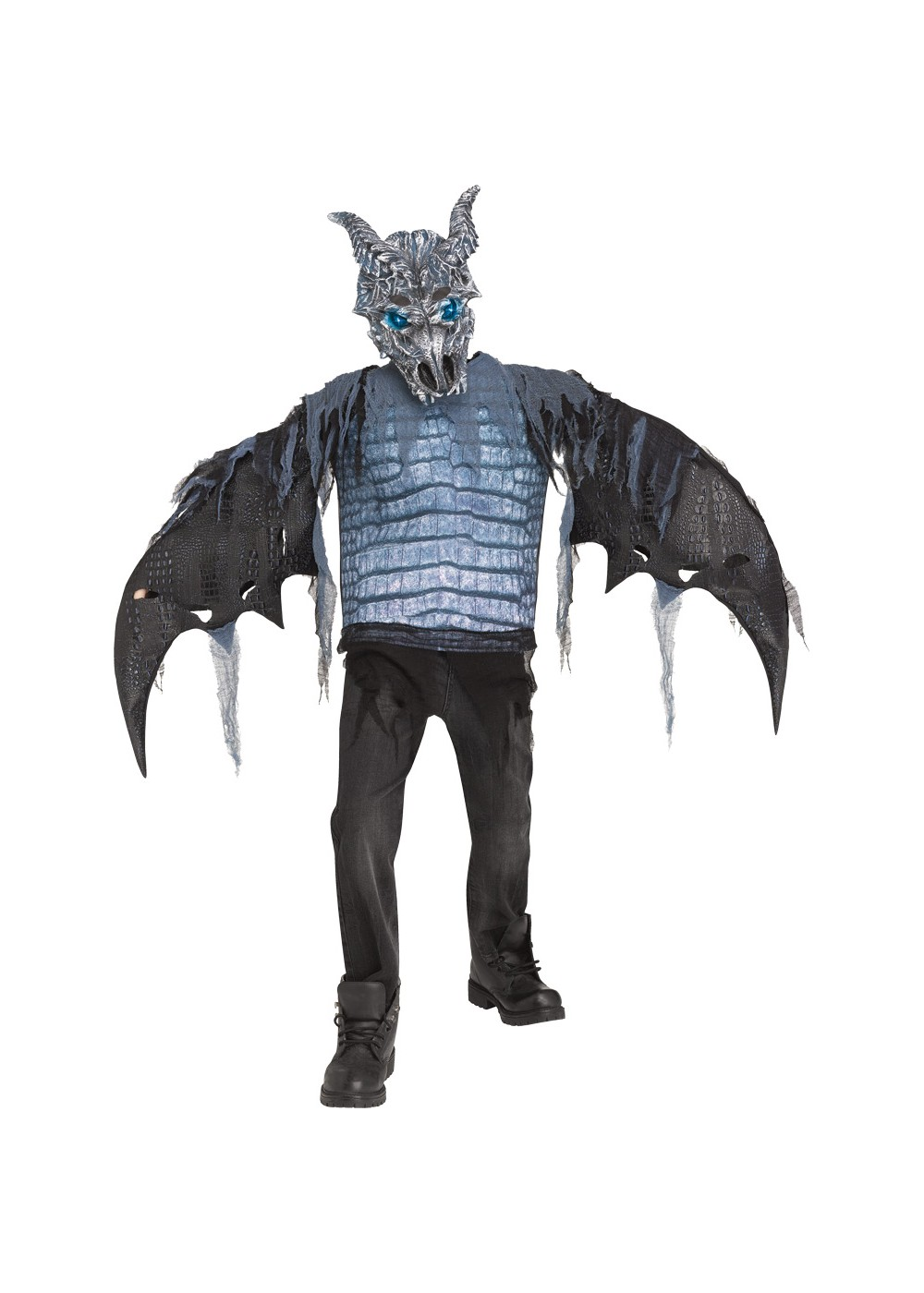 Boys Fearsome Ice Dragon Costume