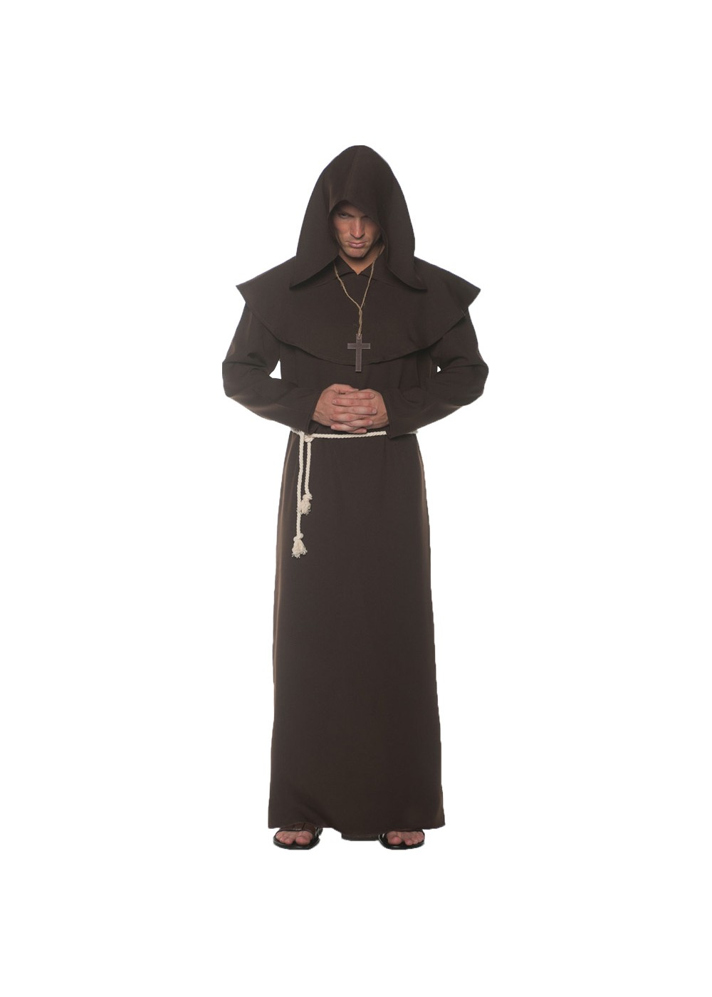 Brown Monk Mens Costume
