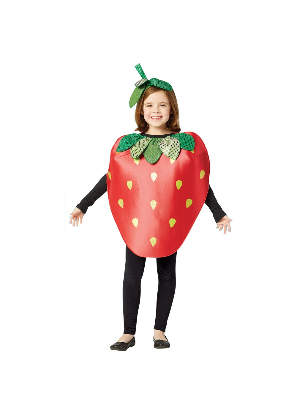 Kids Child Strawberry Costume
