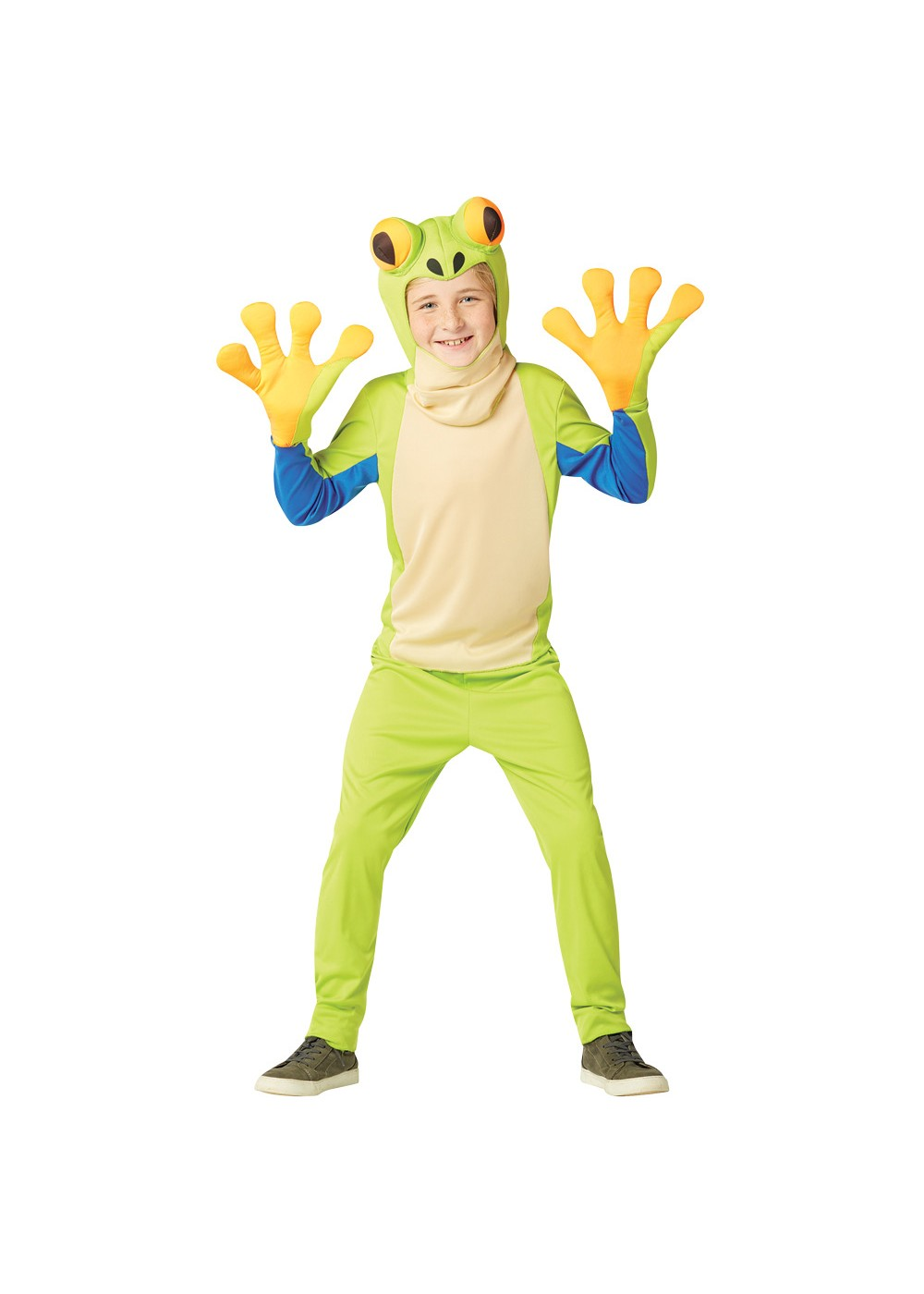 Kids Child Tree Frog Costume