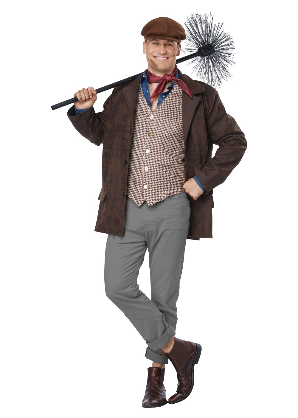 Chimney Sweep Men Costume