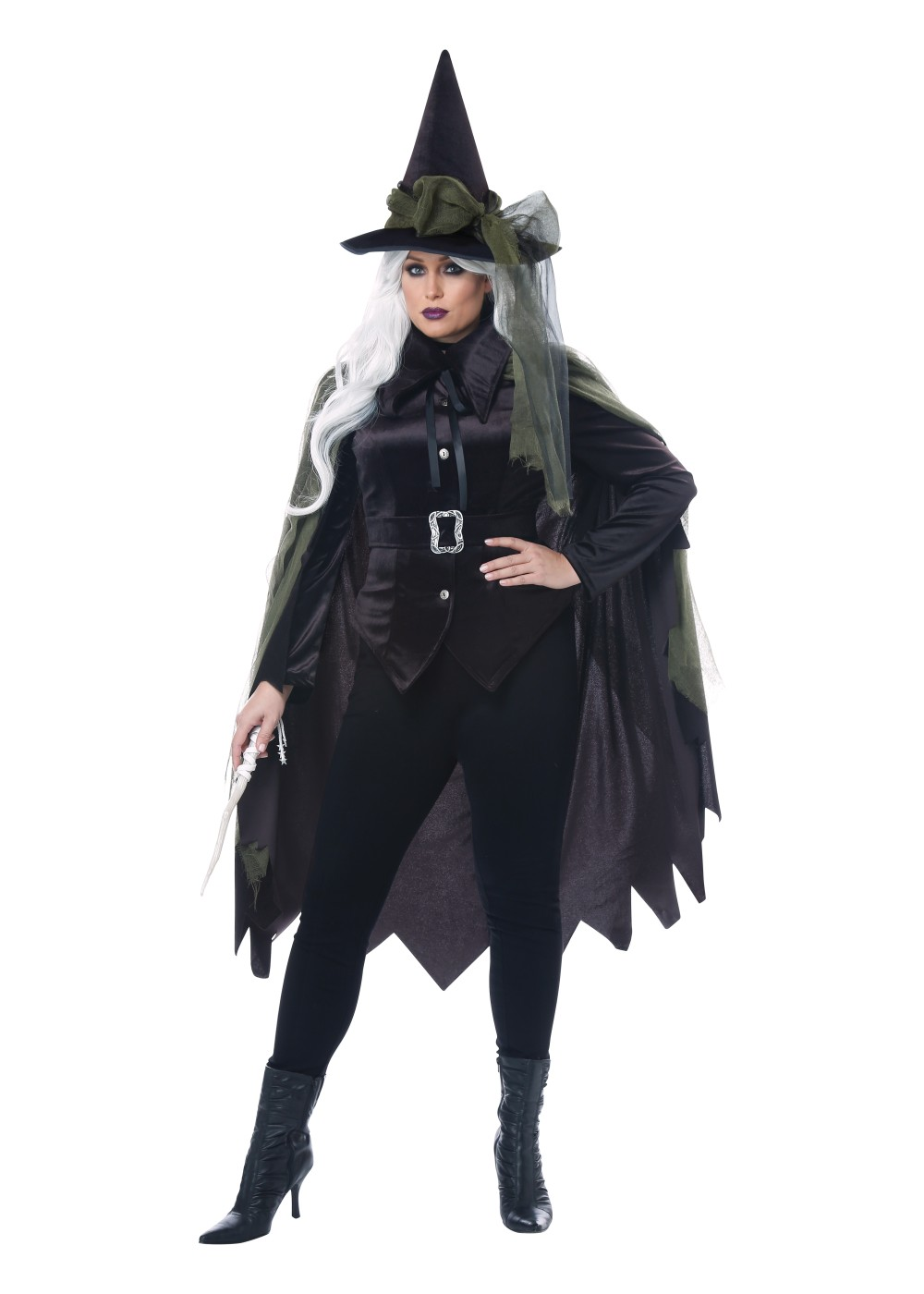 4e5b0a3b24e Gothic Dark Witch Women Plus Size