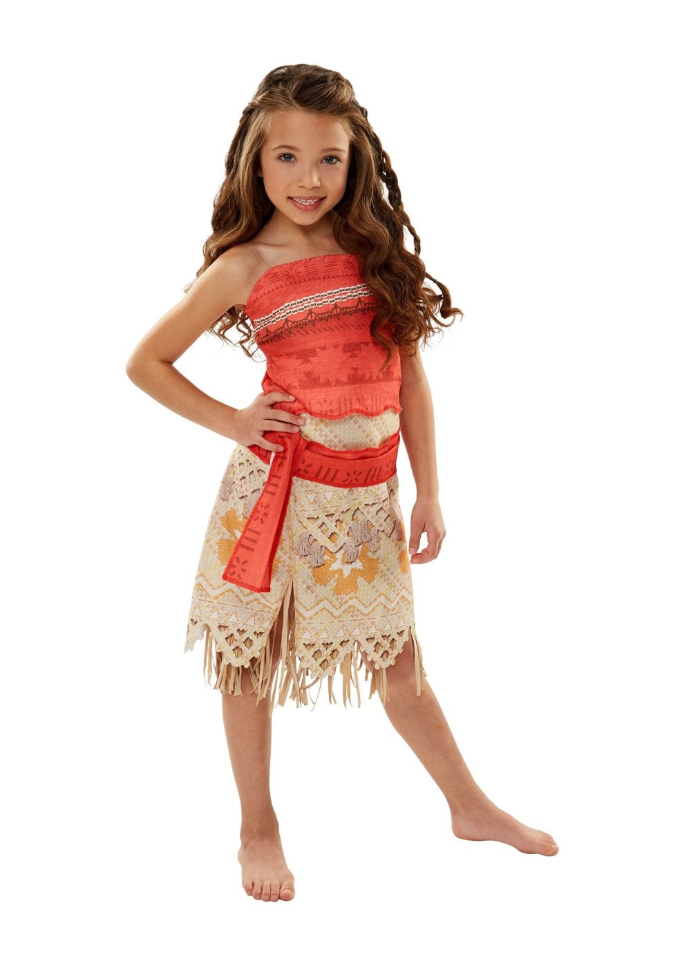 Kids Disney's Moana Girls Costume
