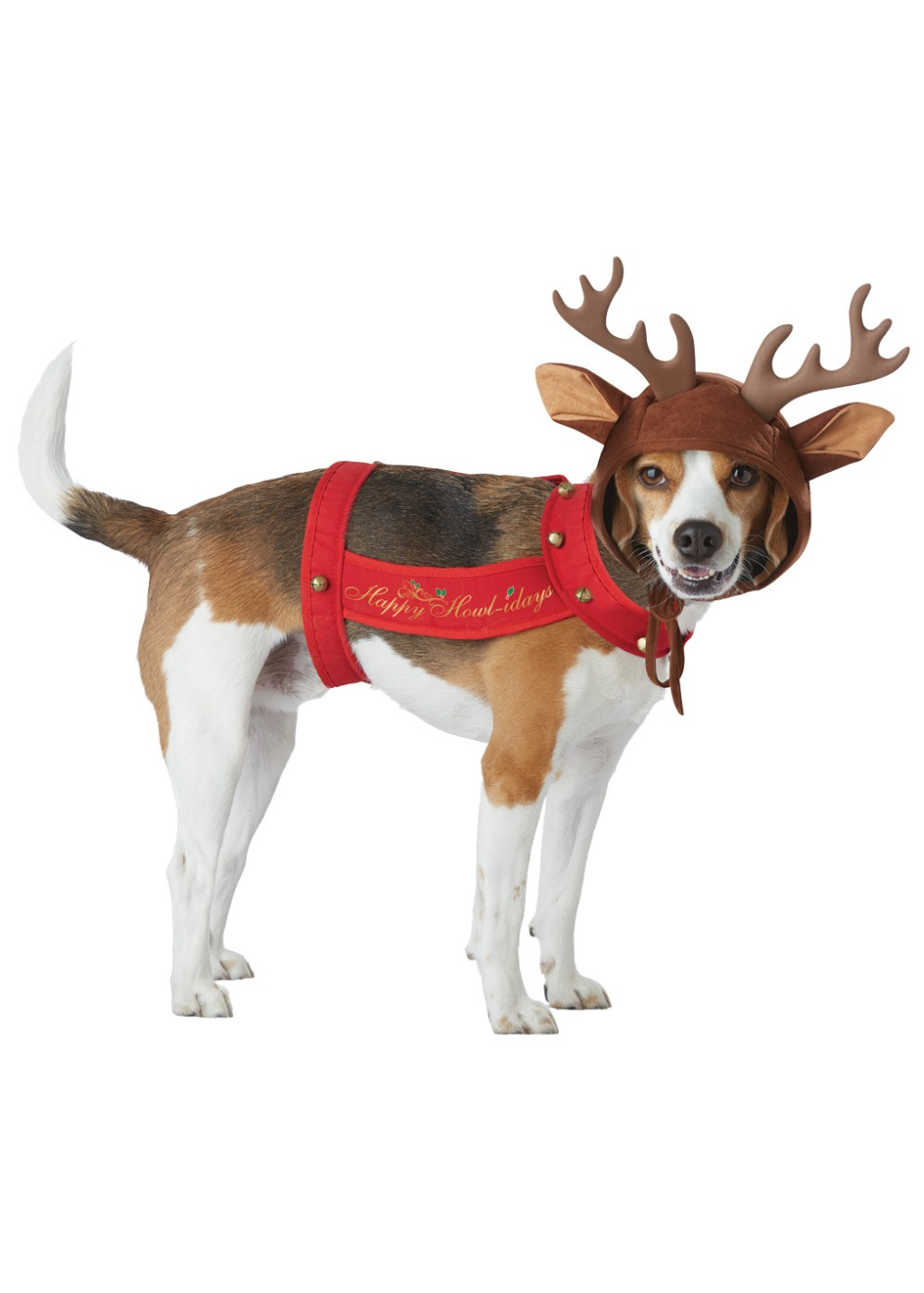 Dog Santas Reindeer Costume