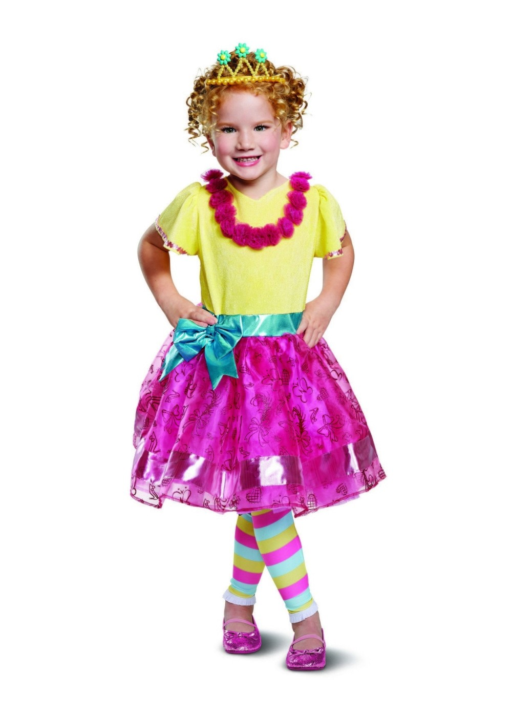 Kids Fancy Nancy Girls Costume