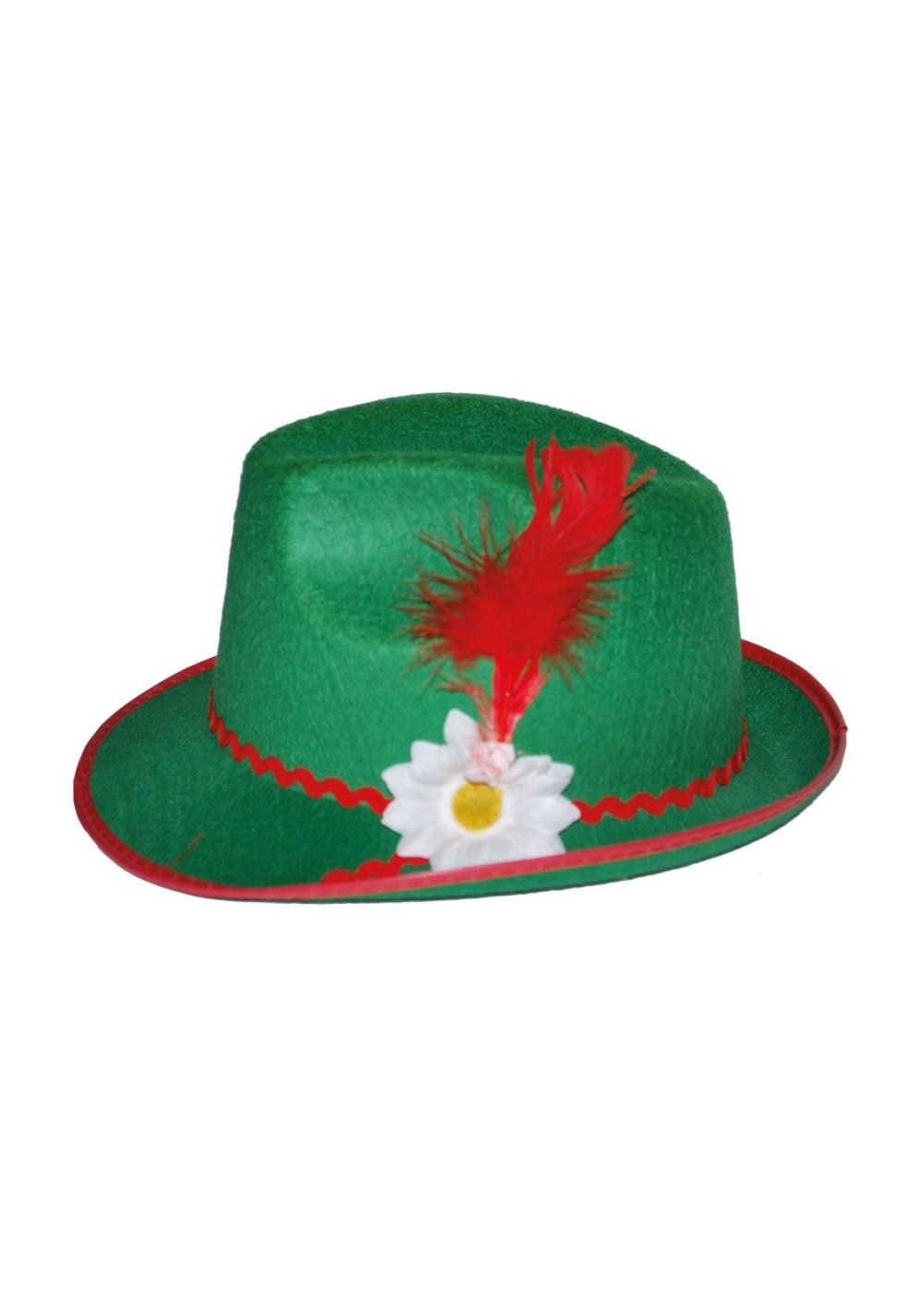 Bavarian Quill Feather Hat