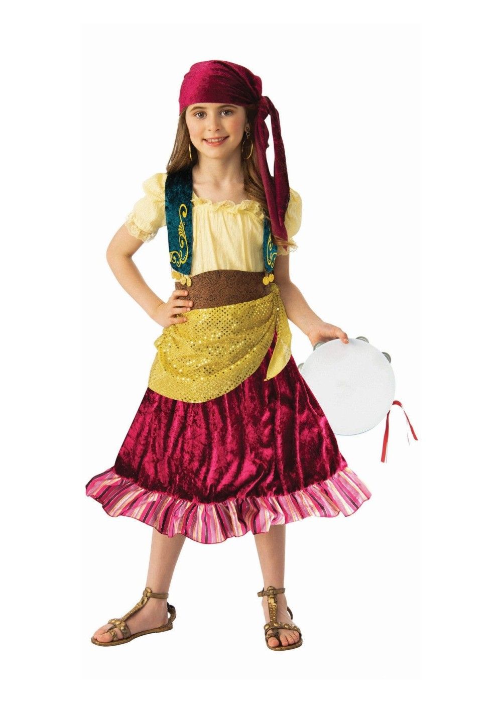 Kids Girls Fortune Teller Costume