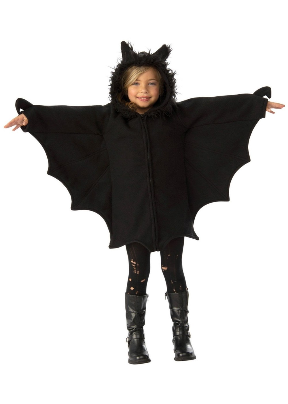 Kids Girls Night Bat Costume