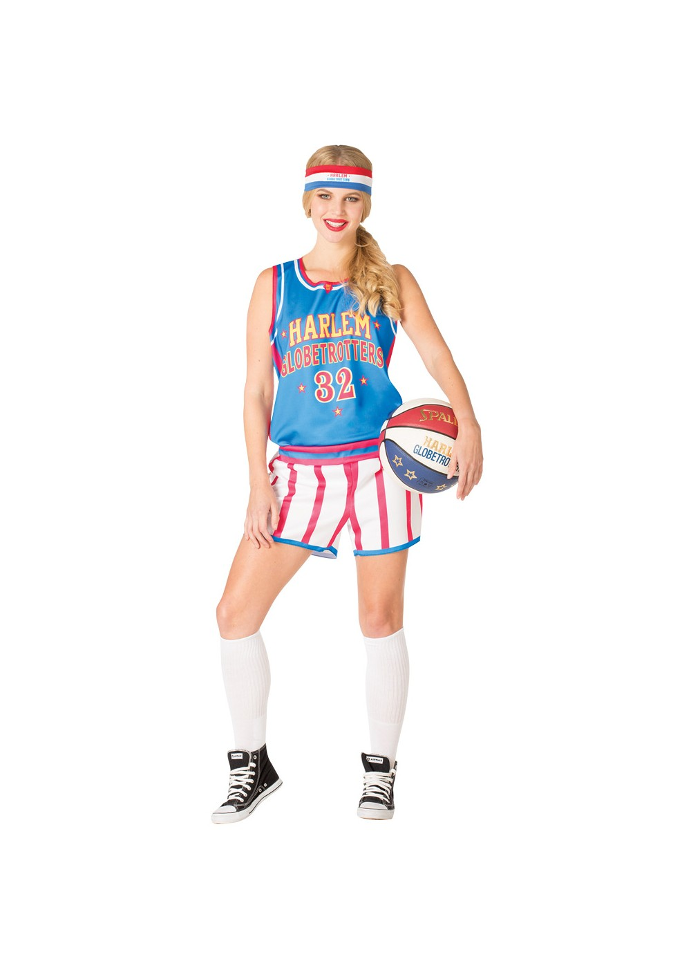 Womens Globetrotters Uniform Costume