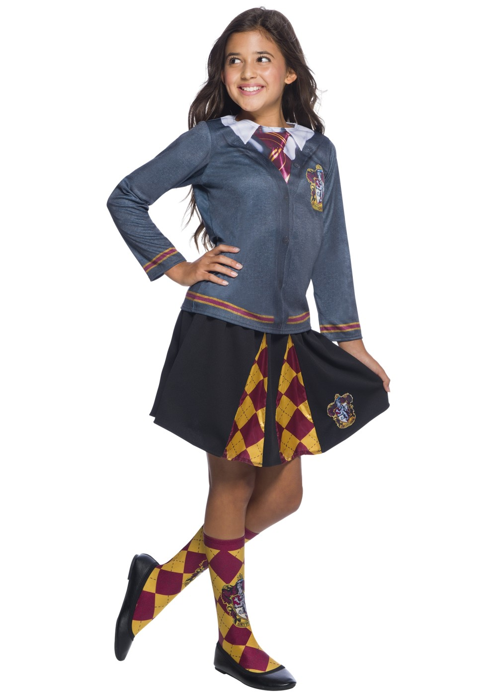 Kids Harry Potter Gryffindor Girls Top