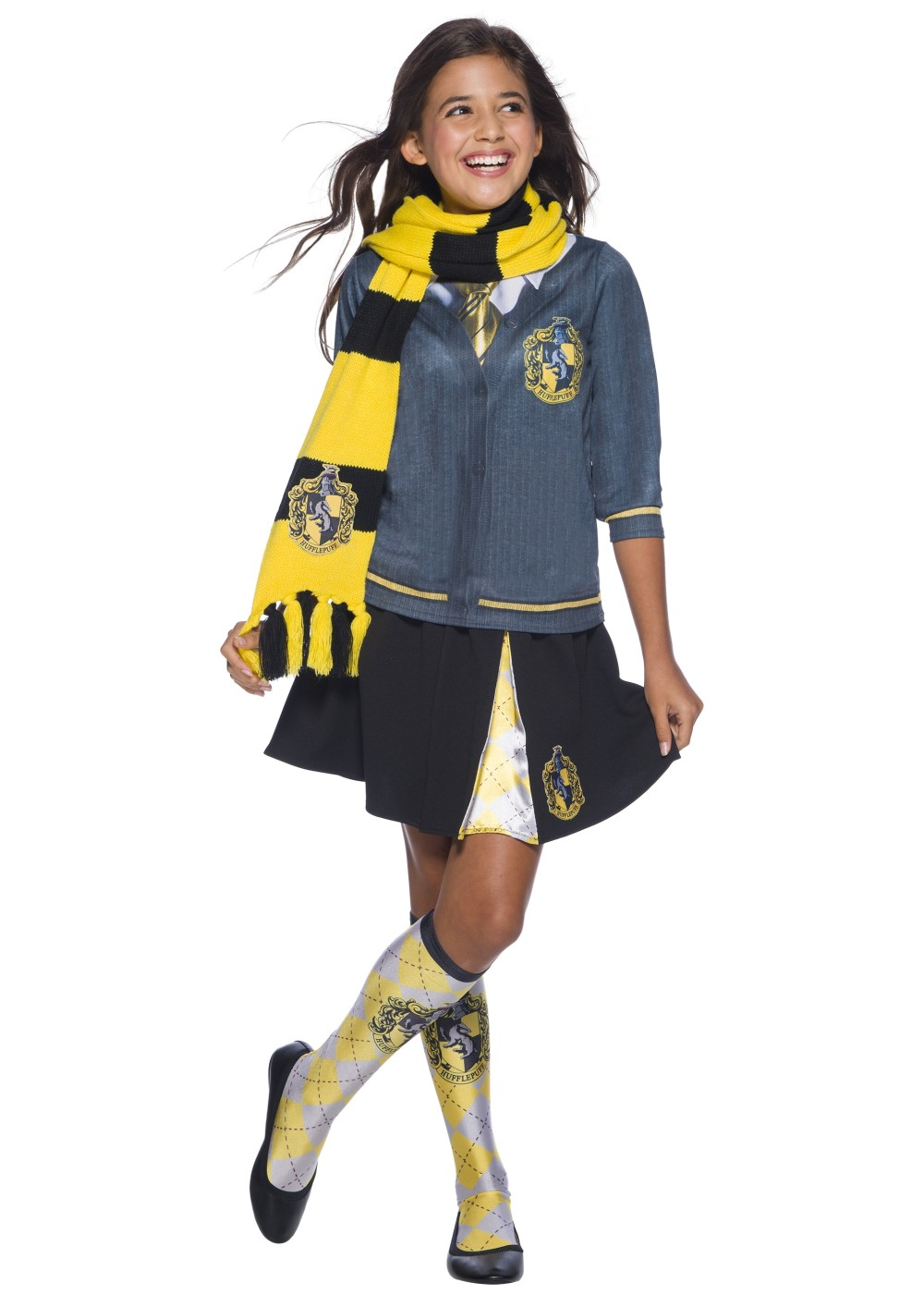 Kids Harry Potter Hufflepuff Scarf