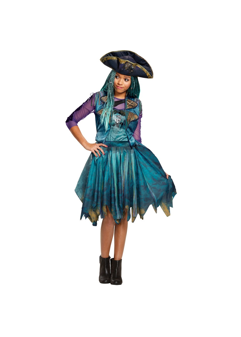 Kids Descendants Isle Of The Lost Girls Uma Costume