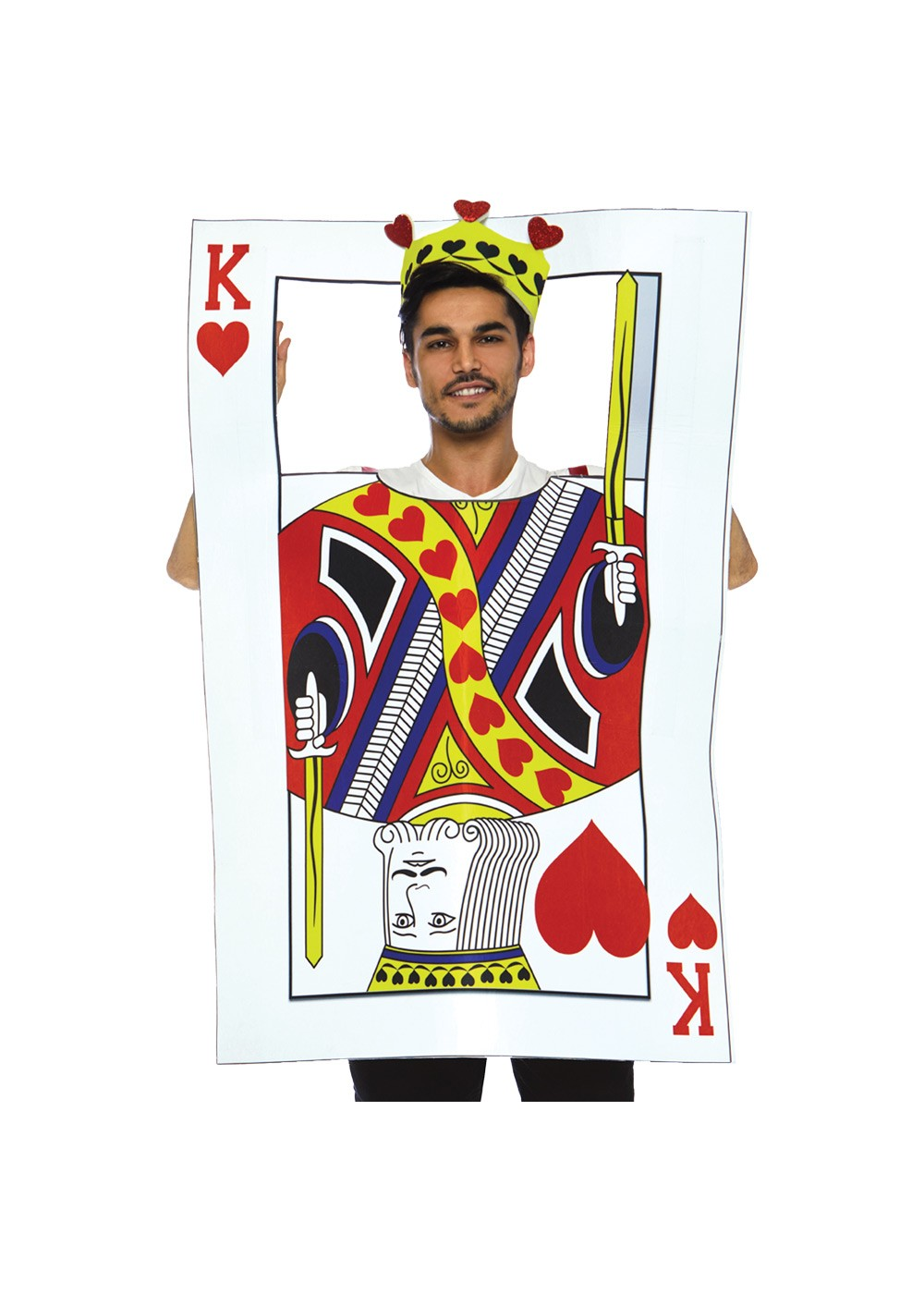 King Of Hearts Card Costume Cosplay Costumes