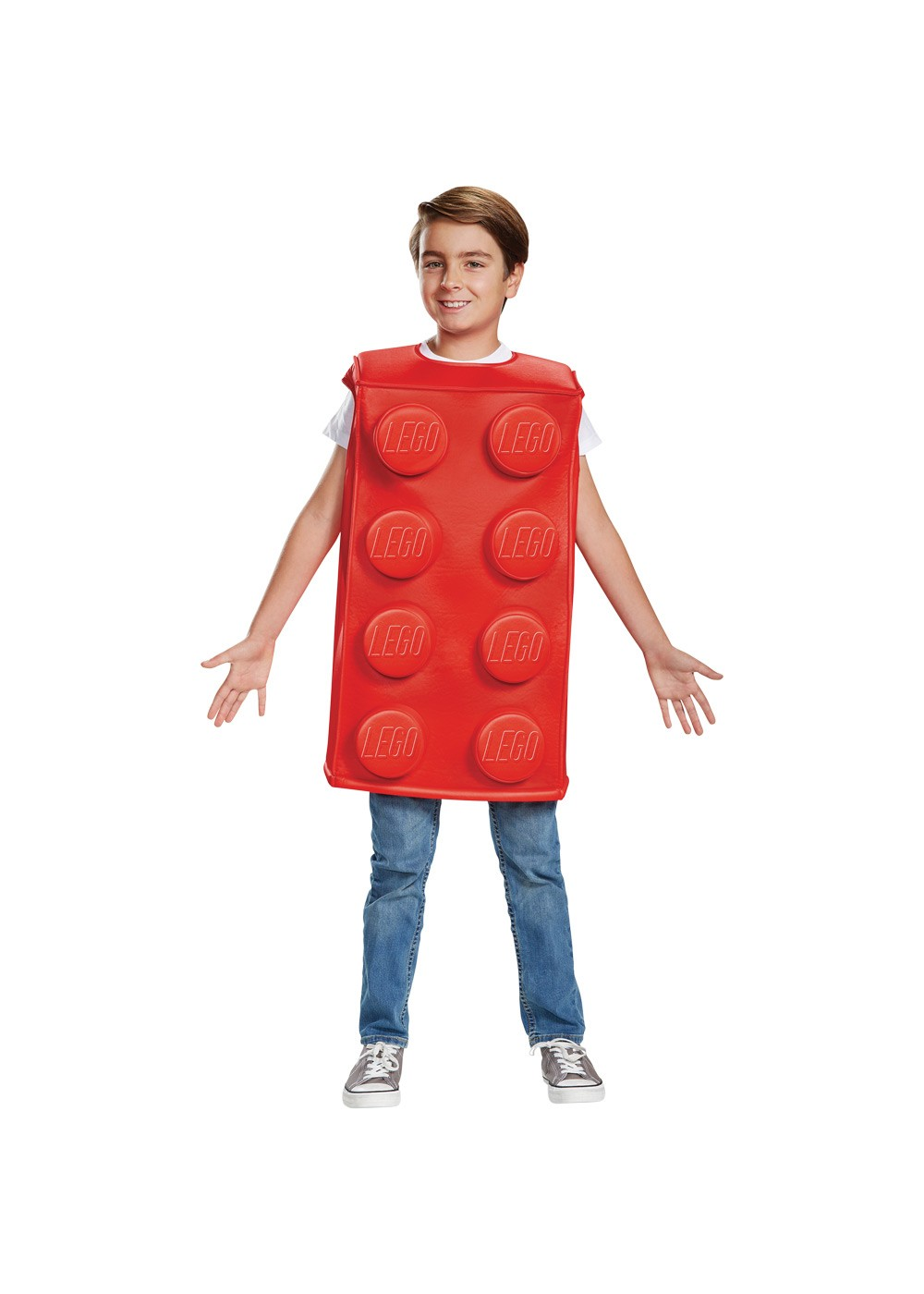 Lego Brick Boys Costume