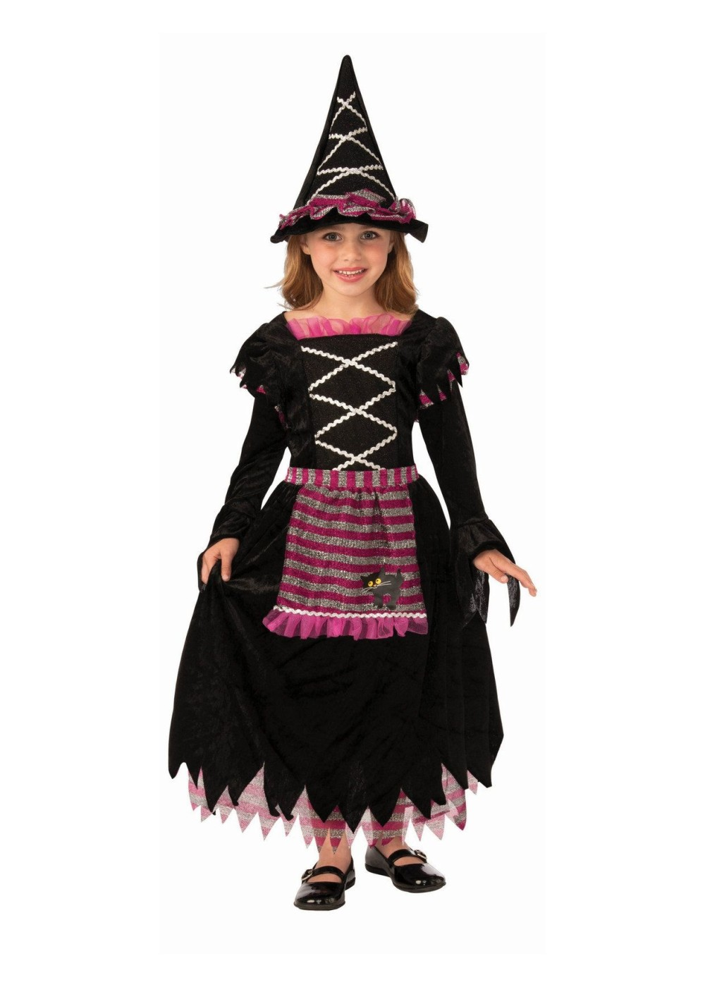 Kids Little Witch Girls Costume